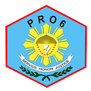 POLICE REGIONAL OFFICE 6 Official Logo